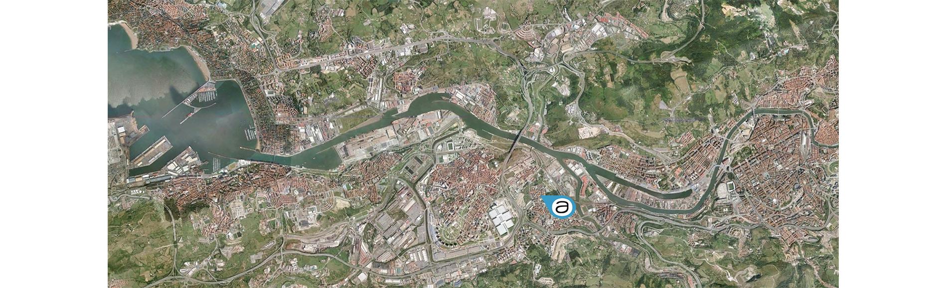 Ortofoto-Bilbao