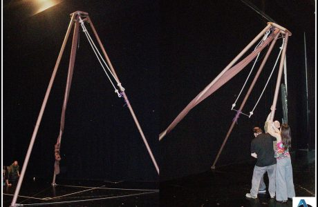 tripode de acrobacias